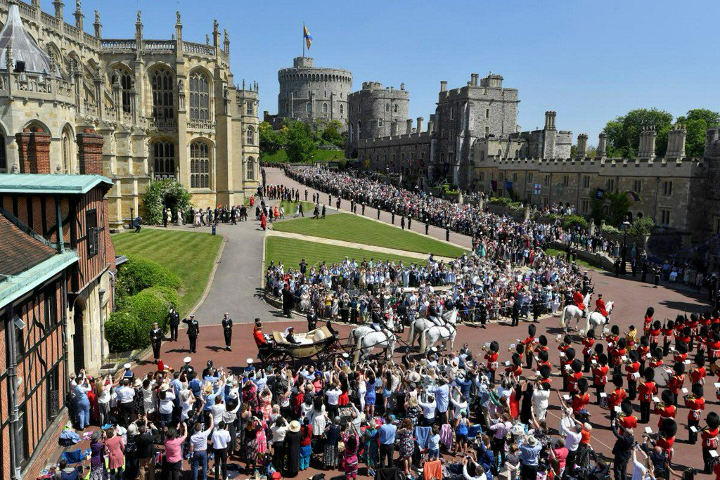 Backstory: A very modern royal wedding https://t.co/9sAyRSvovd https://t.co/h5jTUlDq7v