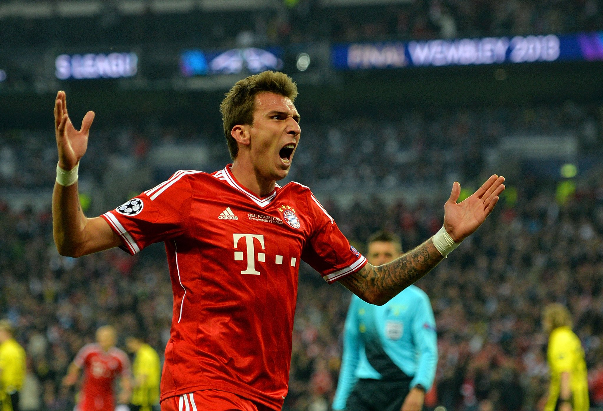 Wish 2013 #UCLfinal winner & goalscorer Mario Mandžukić a happy birthday! ������ https://t.co/cl5LIzL9rP