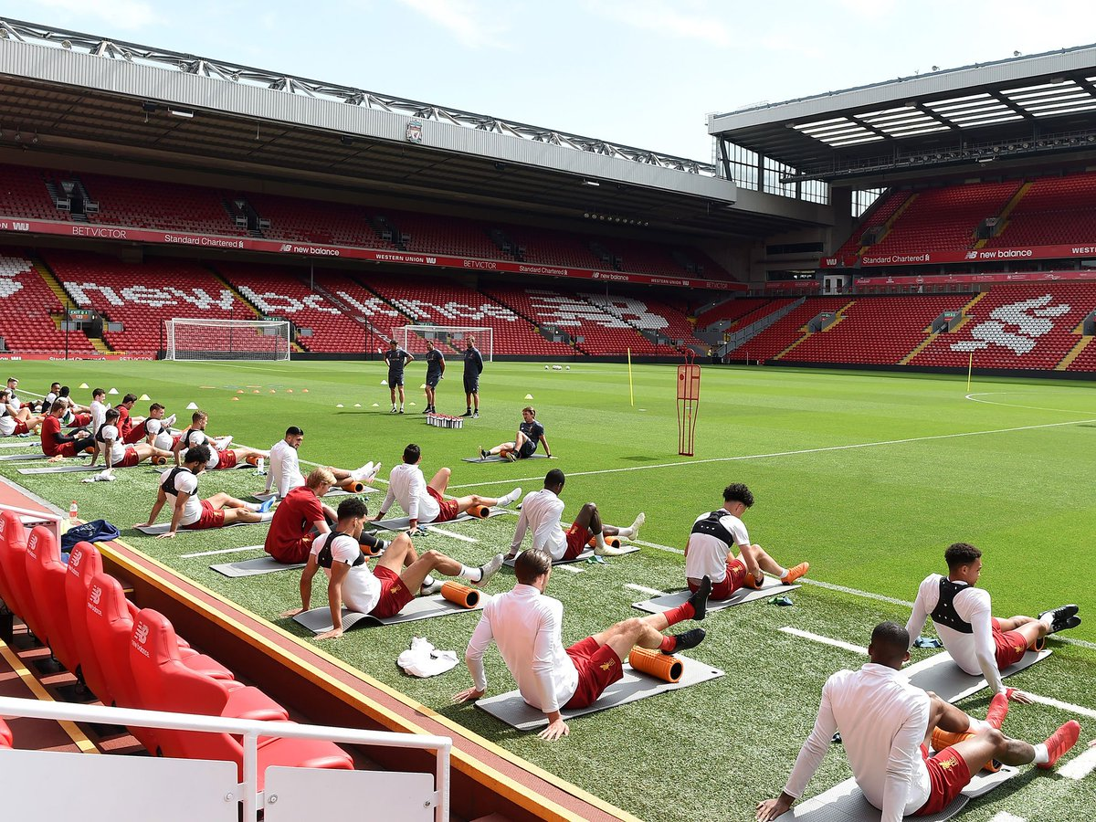 James Milner and Emre Can return to Liverpool training ahead of Champions League final  https://t.co/vHc62IXMcs #lfc