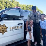 Thanks to the Kemp family for making goodie bags last week in honor of National Law Enforcement Appreciation Week. It's a tradition they started several years ago. They deliver the bags to local law enforcement agencies. It is very appreciated!#sbsheriff💕