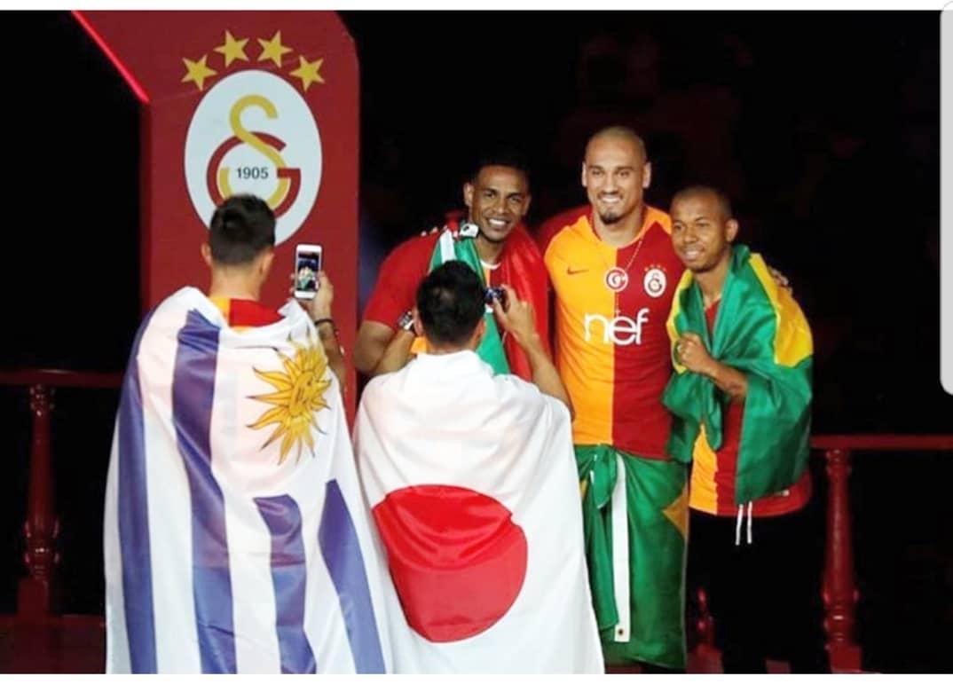 Campeões 🇧🇷🇯🇵🇺🇾 #Galatasaray 🦁🏆
