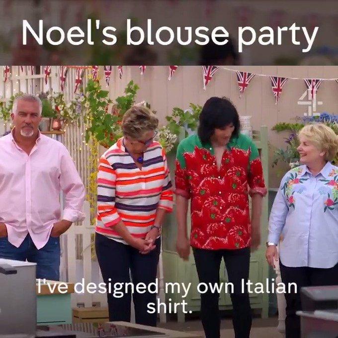 Extrovert shirt alert! Happy Birthday Noel Fielding!