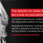 The attacks on @JulianAssange are a war on journalism... the British government is breaking the law—independent journalist @johnpilger: https://t.co/1bruUdDor5 #FreeAssange