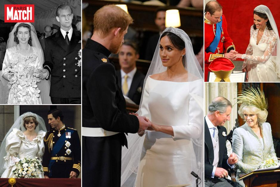 Paris Match On Twitter Les Robes De Mariée Des Windsor