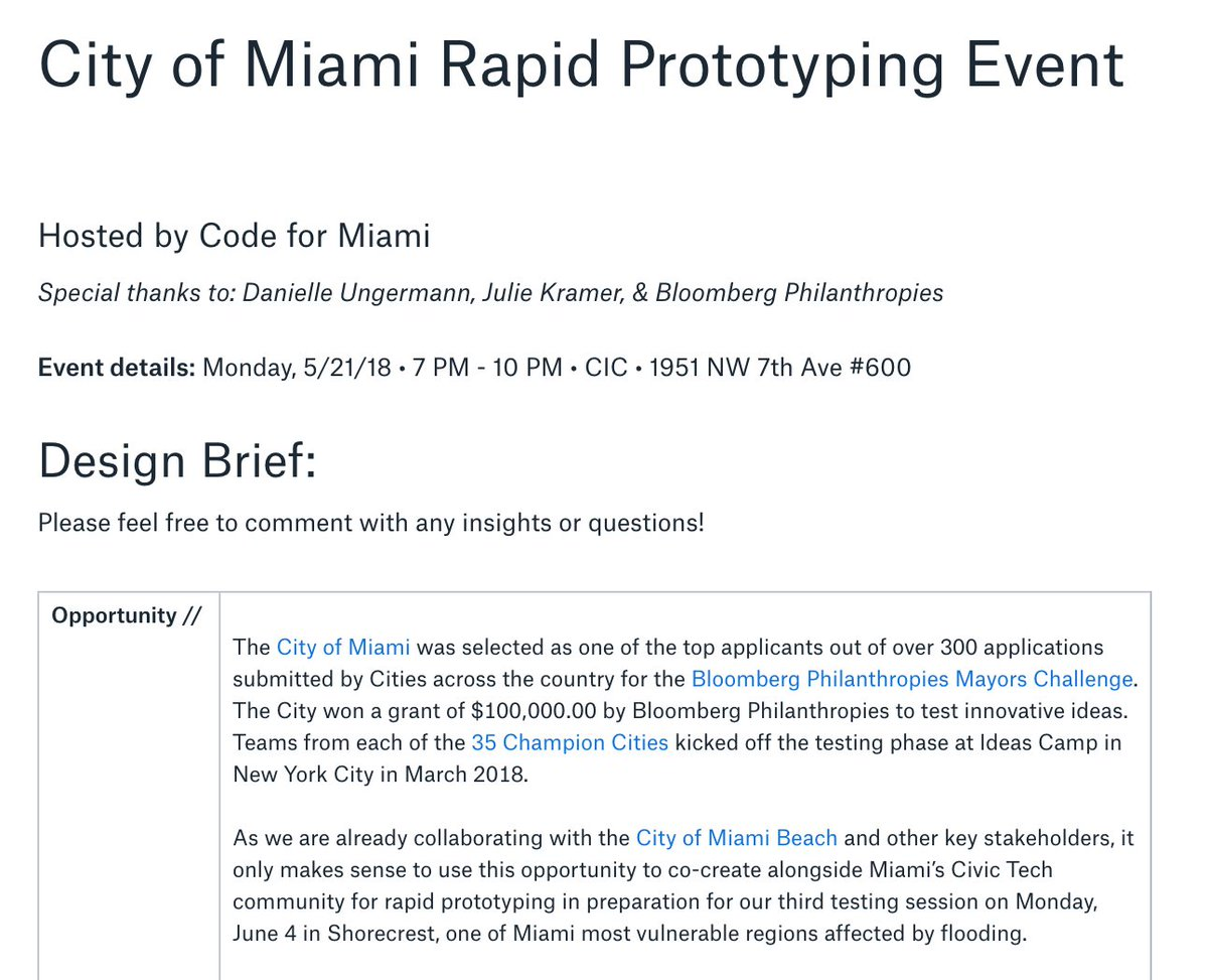 Alberto Cairo On Twitter Hi Miami This Rapid Prototyping Event Insight Working Of Electrical Line Tester How Sounds Great Https Tco Lcoo7s0y53 H T Sarasti Codeformiami Dataviz Infographics