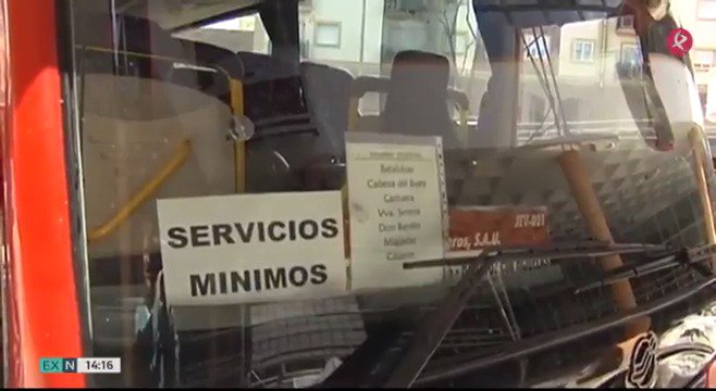 🚌La huelga de #Unionbus continúa. Los 16 trabajadores cobrarán enero y febrero, pero no se conforman: hasta que no reciban el total de lo que se les debe seguirán los paros en las rutas #EXN https://t.co/wutJ3MKMni