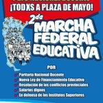 #MarchaFederalEducativa
