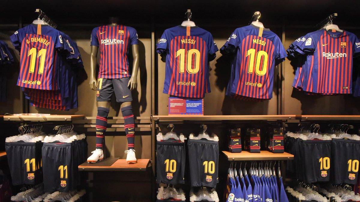 camiseta del barcelona la nueva