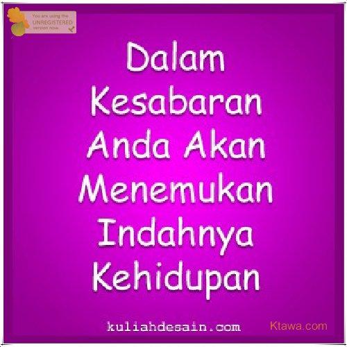9 Kesabaran