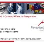 L'intégration européenne et la reconfiguration du conservatisme helvétique - par Blaise Fontanellez - PDF, 12 pages - https://t.co/gmiaIMMF4G #Suisse #conservateurs #droite #integrationeuropeenne #UE
