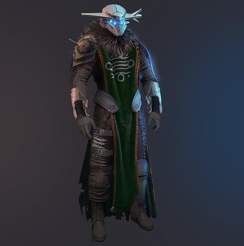 Bonus 'Budget Variks' outfit.