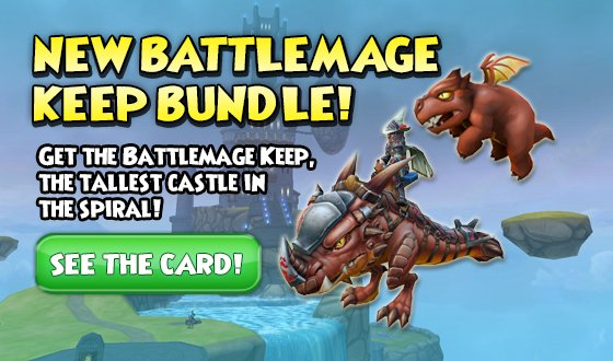 Wizard101 On Twitter The New 39 Battlemage Keep Bundle Is Now