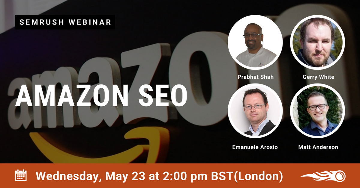 Rohan Ayyar On Twitter A Really Cool Webinar AmazonSEO Is Happening Here Tco ONccfVRw8Z EcommerceSEO EcomChat SEOTalk