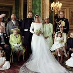 Image for the Tweet beginning: Royal wedding: Duke and Duchess