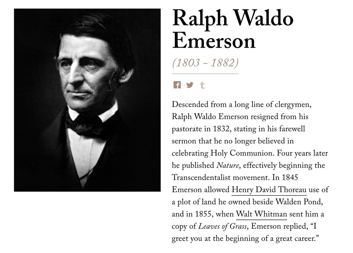 ralph waldo emerson essay on education Page 9 - it is ominous, a presumption of crime, that this word education has so cold, so hopeless a sound a treatise on education, a convention for education, a lecture, a system, affects us with slight paralysis and a certain yawning of the jaws.