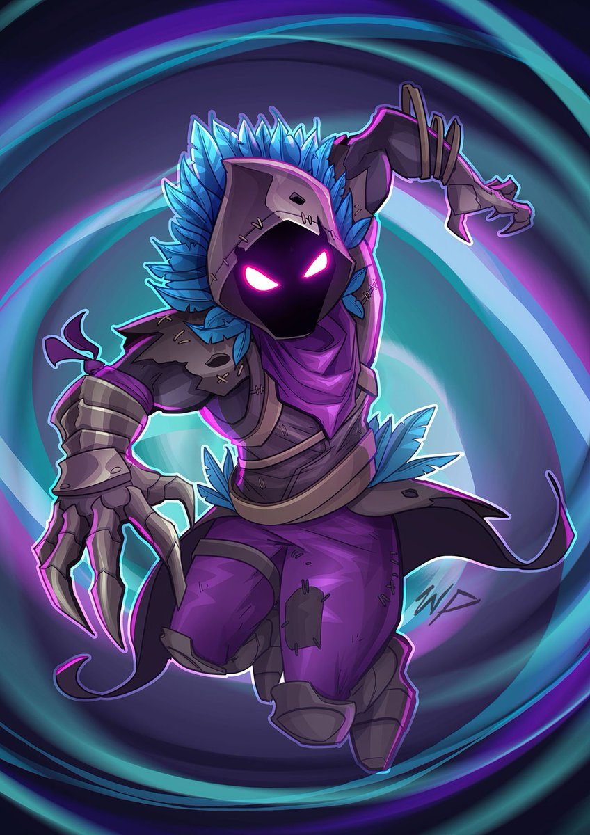 Raven Fortnite Drawing - PassionX