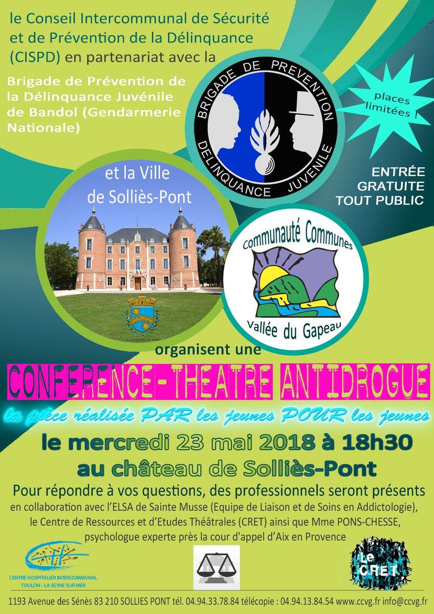 Ville De La Farlede On Twitter Conference Anti Drogue
