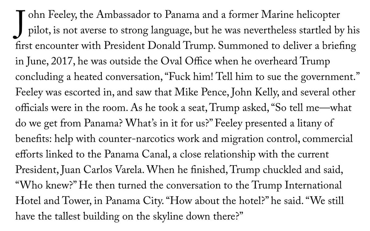 Donald Trump's foreign policy in one staggering @jonleeanderson paragraph. newyorker.com/magazine/2018/…