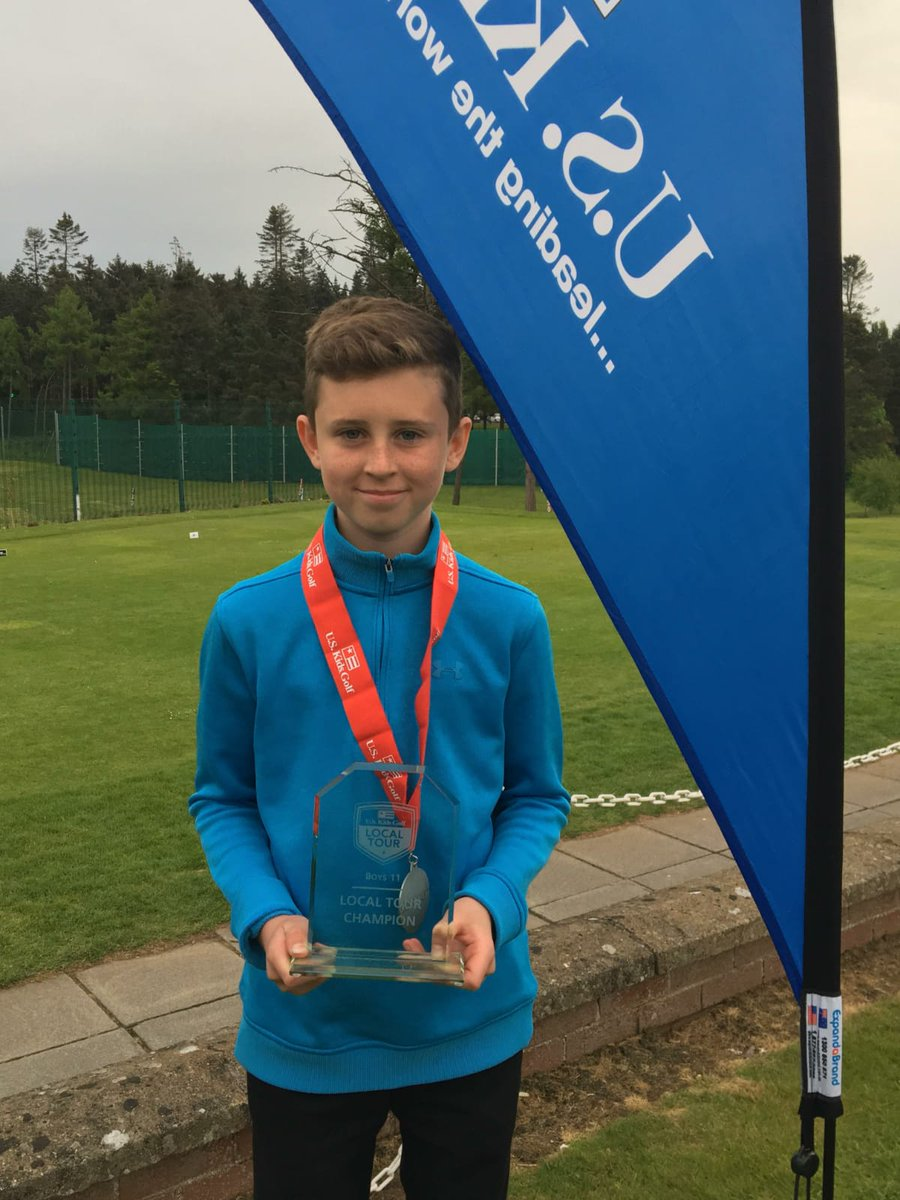 813e855a2b3d ... the overall US Kids Golf North of Ireland Tour in the Boys Age 11  category. Eoin accumulated 130 points over five events to win the tour by  eight ...
