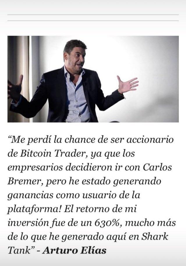 shark tank mexico bitcoin trader)