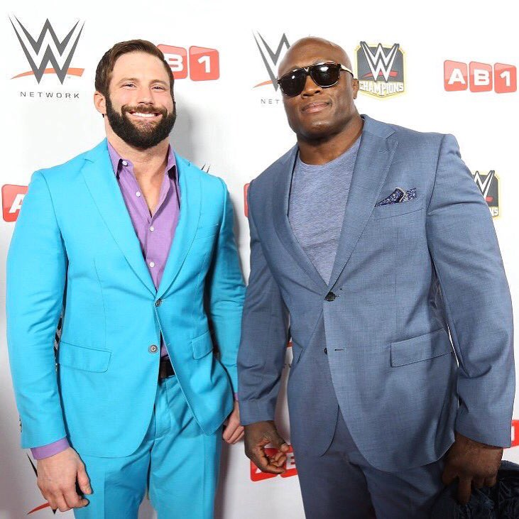 On the red carpet with @fightbobby before #WWEParis.