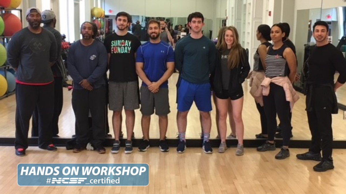 Ncsf On Twitter Ncsf Personal Trainer Workshops In Boston Denver