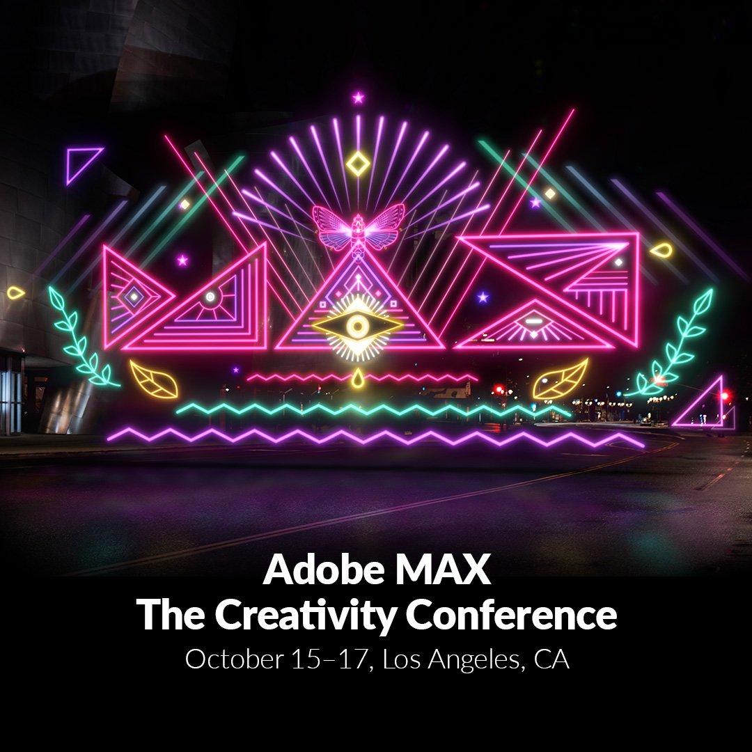 Adobe max adobemax twitter 7 replies 17 retweets 47 likes ccuart Gallery