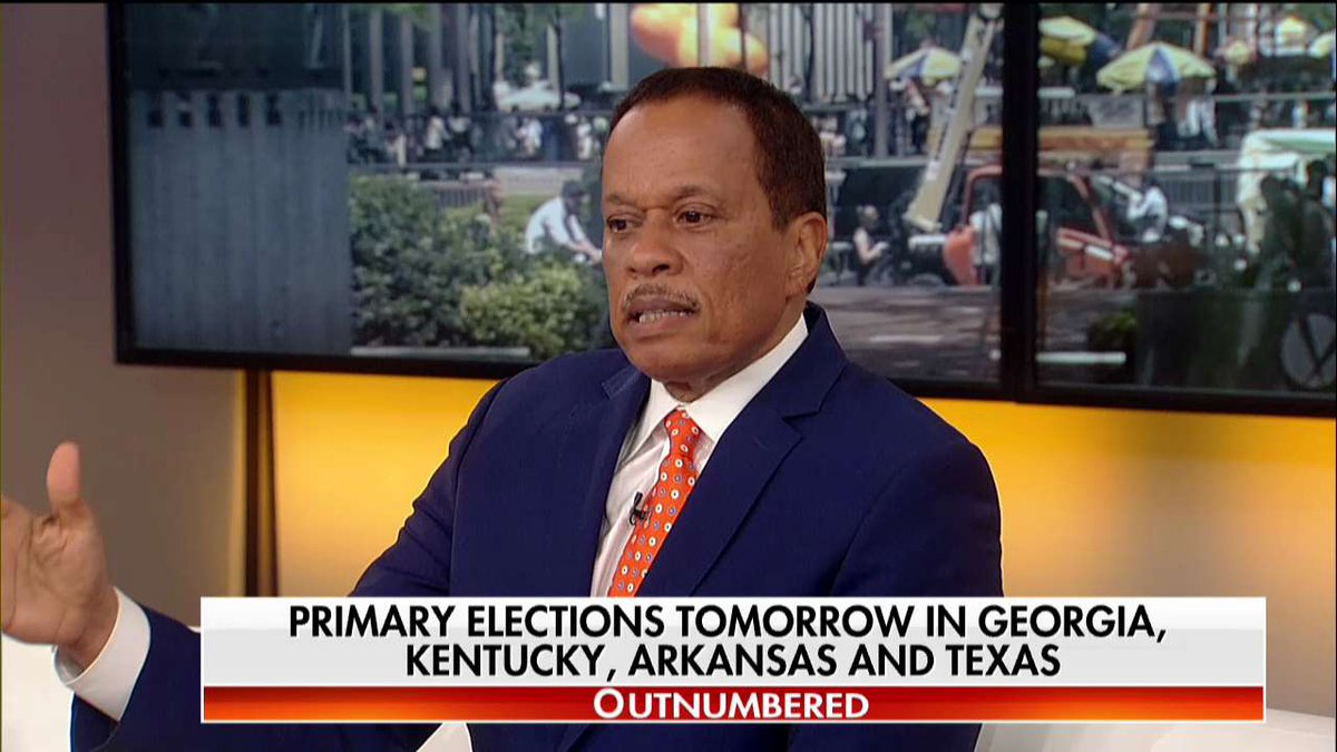 """.@TheJuanWilliams: """"When you look at voter enthusiasm that still tends to be on the Democrats' side."""" #Outnumbered"""