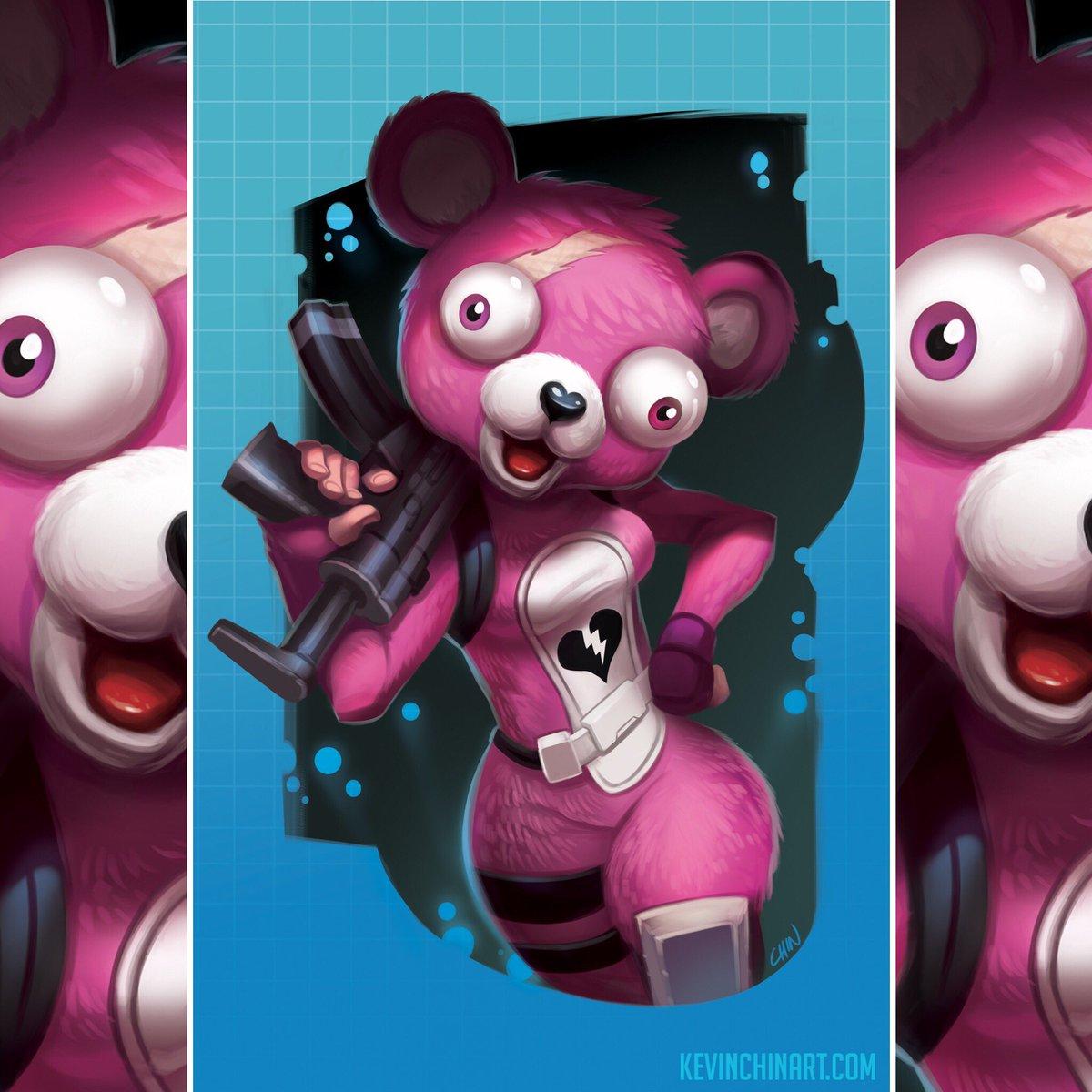 Kevin t chin on twitter cuddle team leader fortnite fanart cuddleteamleader - Panda team leader costume ...