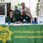 The Sheriffs Office Behavioral Sciences Unit had a booth at Cottage Hospitals annual mental health fair on Saturday where over 25 agencies offering services for mentally ill persons were represented. We are thrilled to be a part of this compassionate community ! #sbsheriff