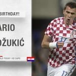 🎂🎁🎉 Sve najbolje povodom rođendana, uključujući i brojne nove golove - pogotovo na nadolazećem Svjetskom prvenstvu - želimo @MarioMandzukic9, drugom najboljem strijelcu u povijesti hrvatske reprezentacije! ⚽⚽⚽ #BudiPonosan #Hrvatska🇭🇷 #Obitelj #Vatreni🔥