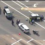 Image for the Tweet beginning: La Mesa police are blocking