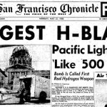 "Image for the Tweet beginning: On May 21, 1956, ""Pacific"