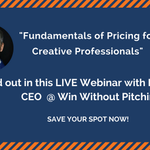 Save the date! On Weds 23rd May we'll be speaking about the fundamentals of pricing for the creative professionals with @blairenns LIVE here! - https://t.co/ROae85HRfz #marketing #growth #agency #hubpartner