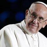 Image for the Tweet beginning: Pope Francis tells gay man: