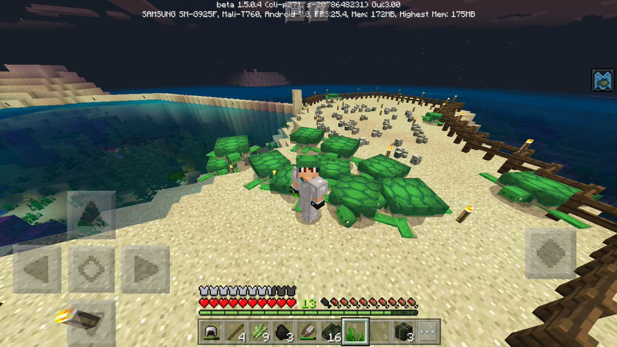 Julien On Twitter It S Turtle Feeding Time With Beta Mcpe1 Some