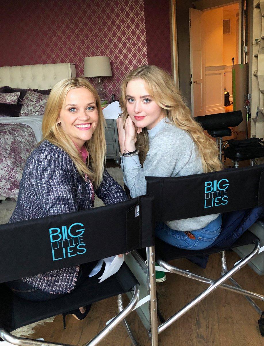 Back on set with my girl @kathrynnewton ! #BigLittleLies @HBO