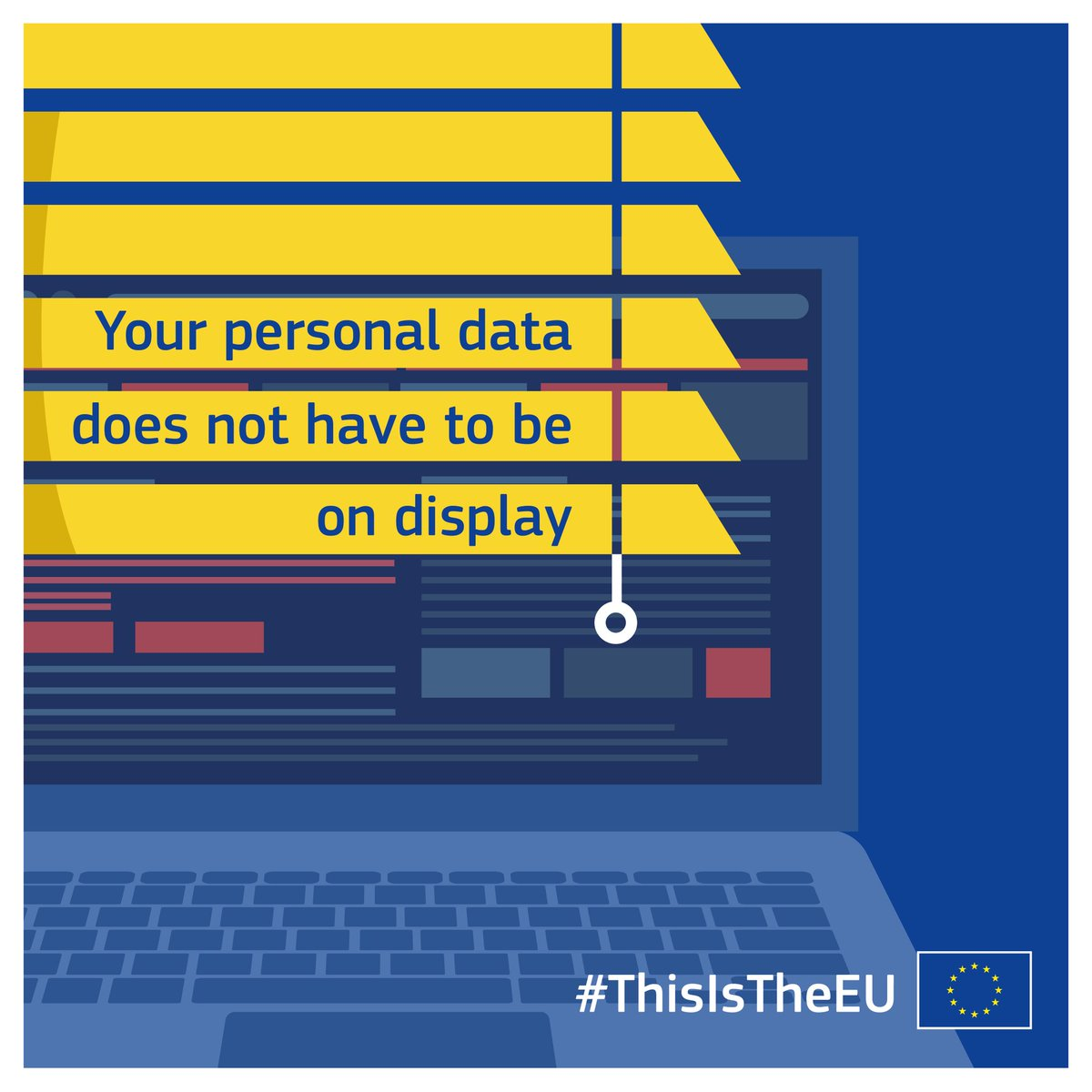 #GDRP is coming. As of 25 May the new rules will ensure stronger #dataprotection. People will have more control over their #personaldata. Businesses will benefit from a level playing field.  Check out all the practicalities on our dedicated page  https:// bit.ly/2LhEhAt  &nbsp;   #EUdataP<br>http://pic.twitter.com/4PiajTinf3