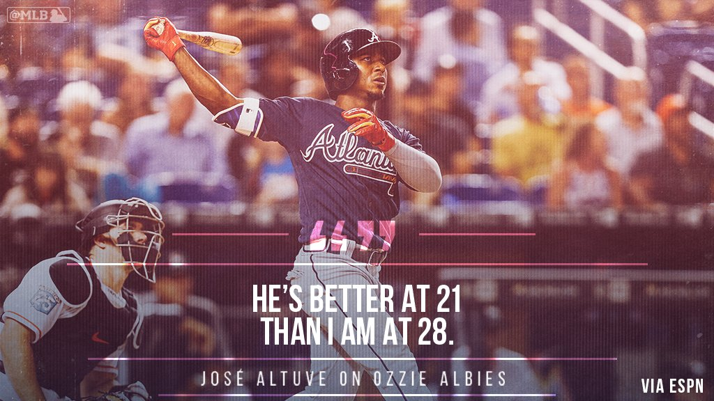 Life's good when the reigning AL MVP says this about you. https://t.co/8A5xKHIfcM