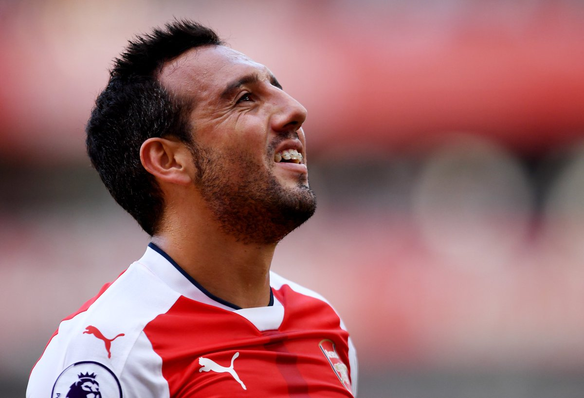 Santi Cazorla's most recent appearance for Arsenal was the 19th October 2016 in a 6-0 Champions League win vs. Ludogorets.  It turns out that will also be his last. 😢