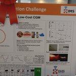 Image for the Tweet beginning: Implantable cgm. #DiabetesInnovationChallenge finalist!