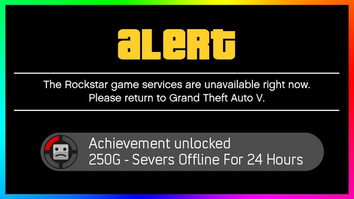 ross on twitter gta online servers are offline prepping for new