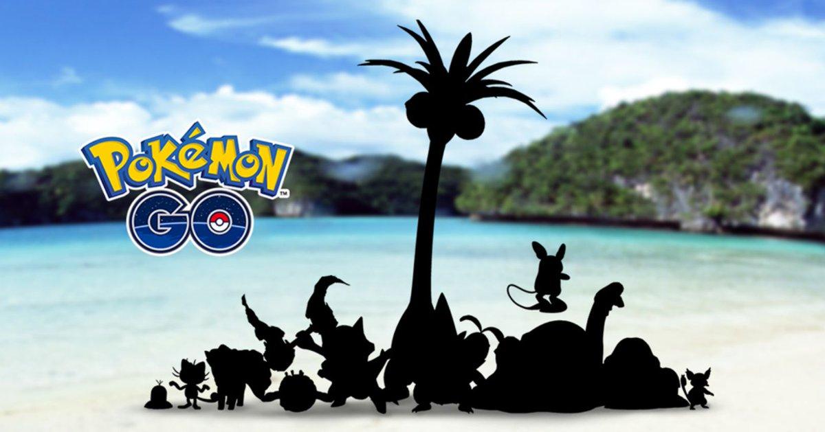 Alolan Variants Coming To Pokémon Go https://t.co/DqSdjSKvbP