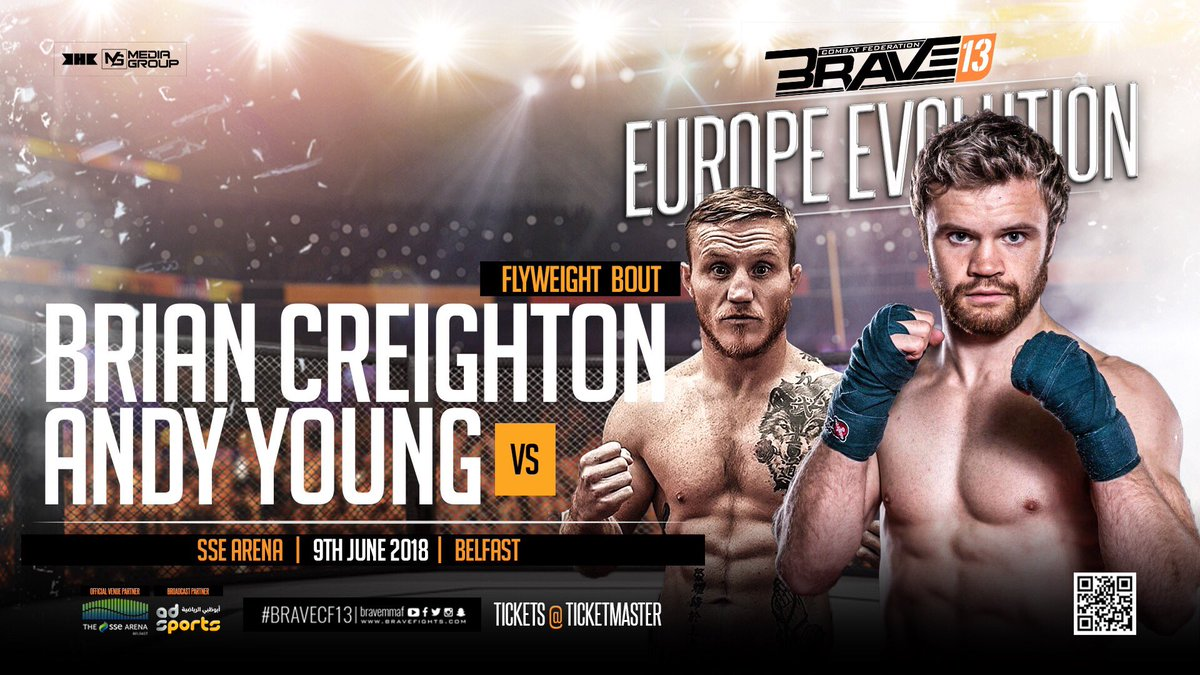 Image result for andy young vs bryan creighton