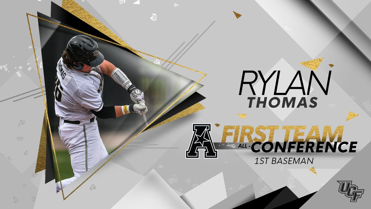 We put ✌️ guys on the @American_BSB First Team ⚔️ Congrats Thad and RT! #ChargeOn