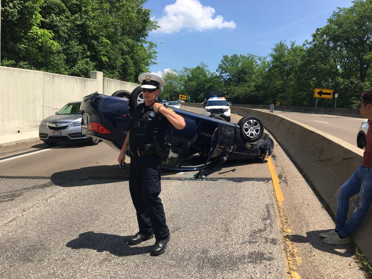 Columbia Parkway has reopened after this crash.