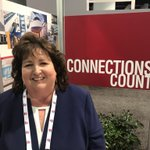 """""""#ICSCRECon is a great place for #REALTORS to make connections and finalize deals with many of our clients in one location."""" —Carolyn Monroe #CRE"""
