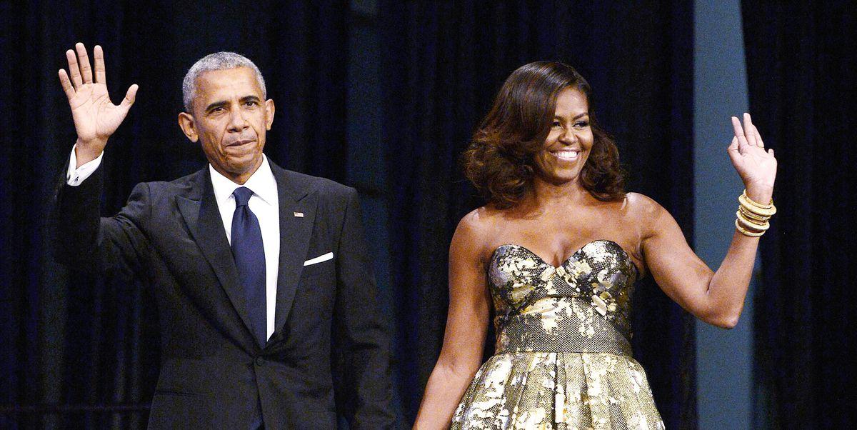 Cosmopolitan's photo on the obamas