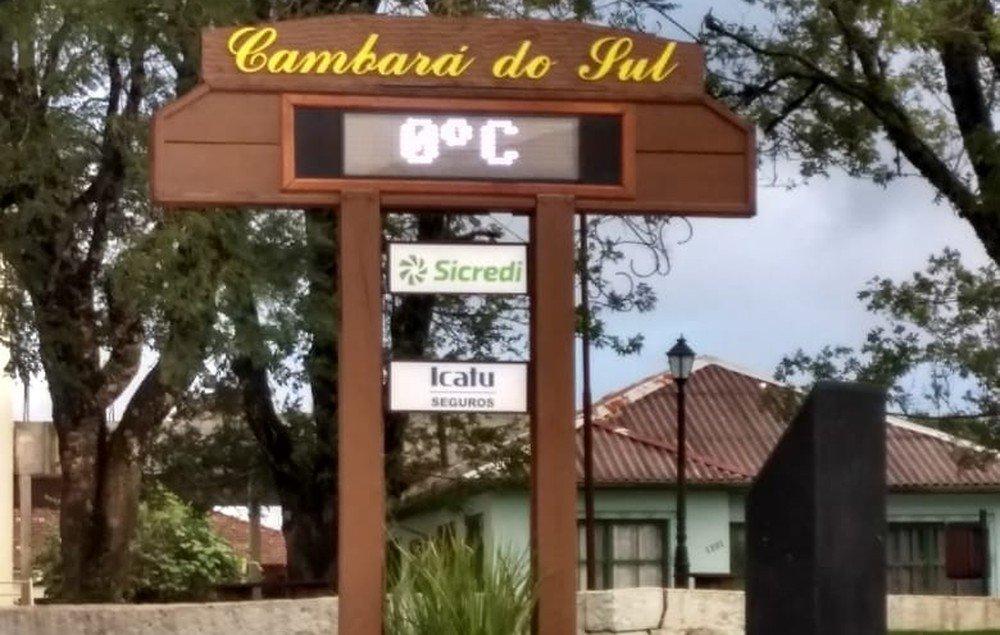 Massa de ar polar ganha força e semana inicia gelada no Rio Grande do Sul https://t.co/bDa6xwcodL