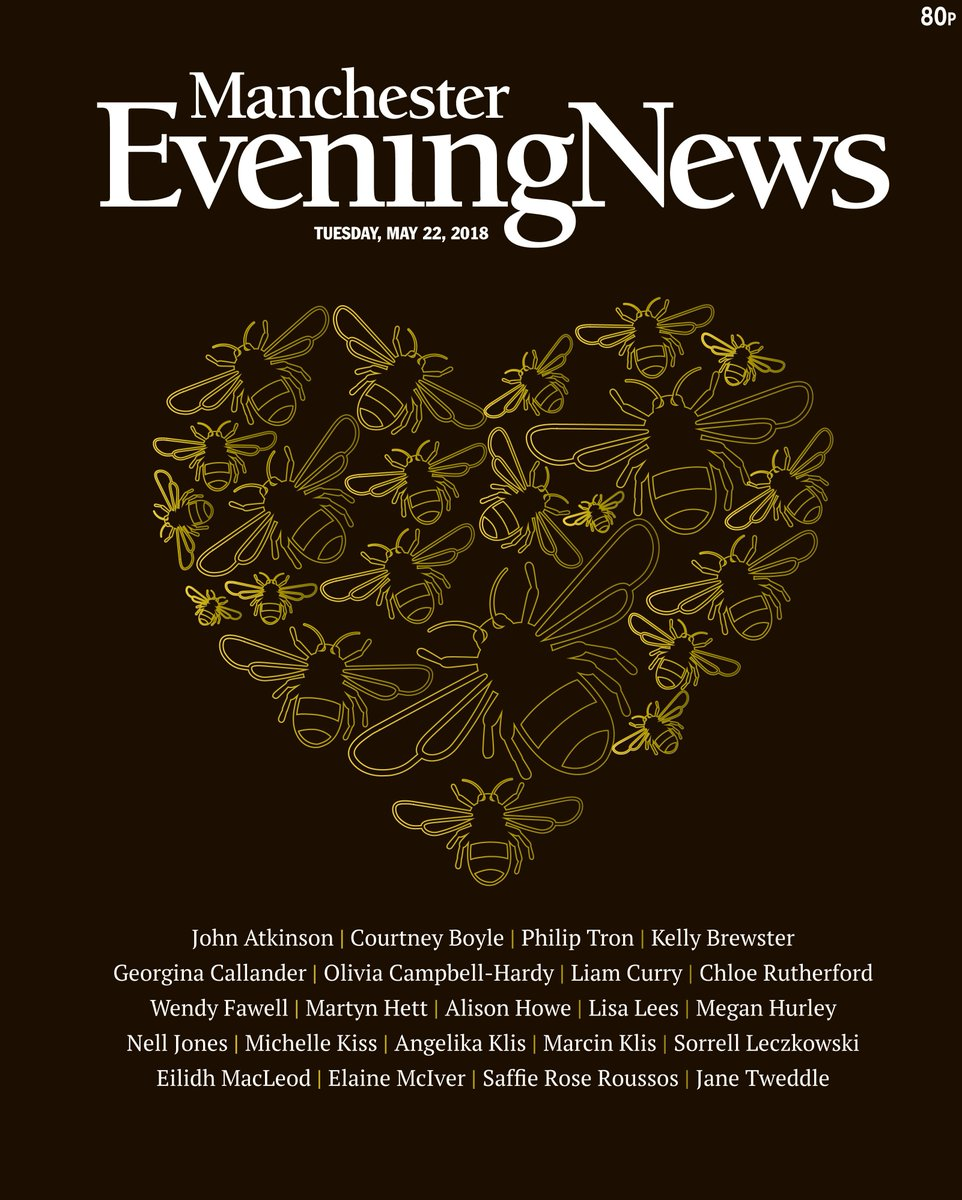 Tuesday's Manchester Evening News front page #tomorrowspaperstoday